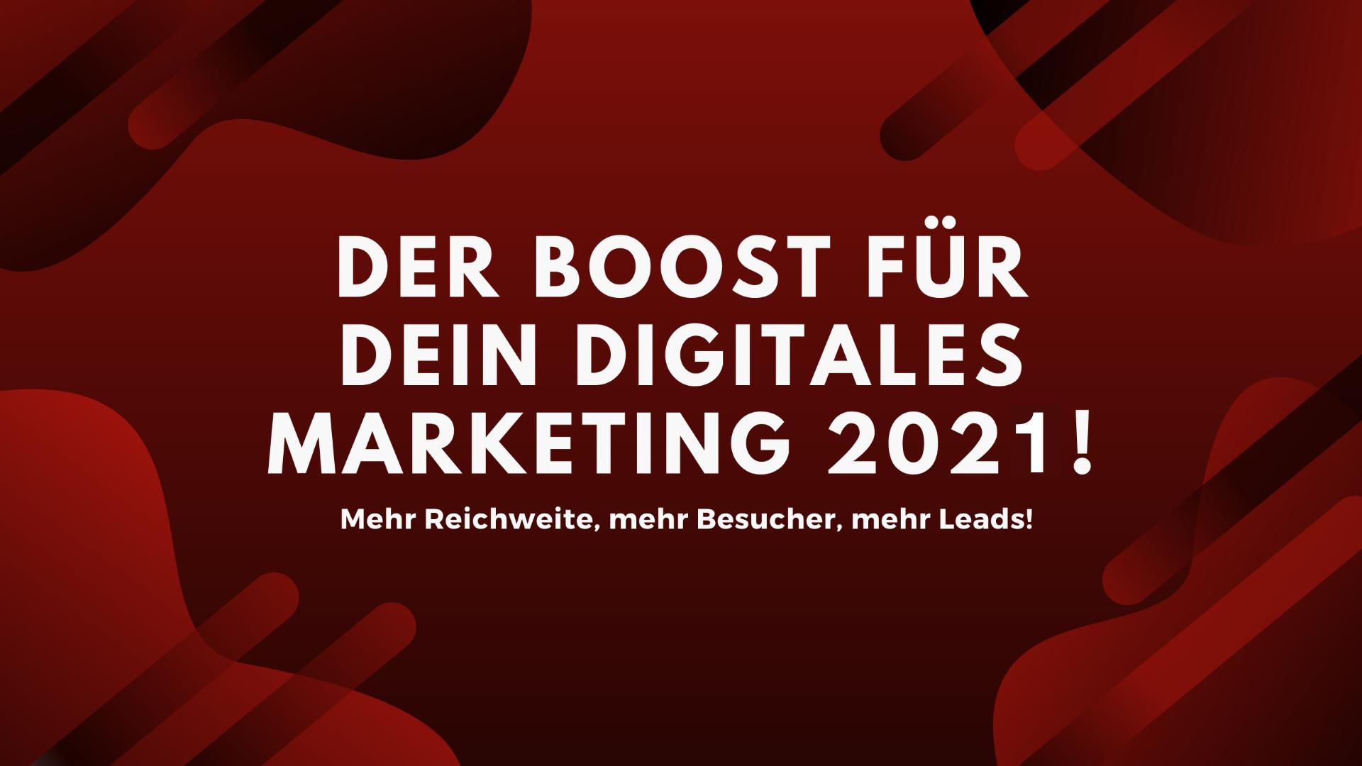 dig. marketing boost