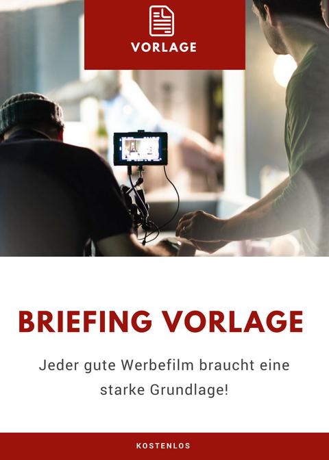 Vorlage Film TV Spot Briefing