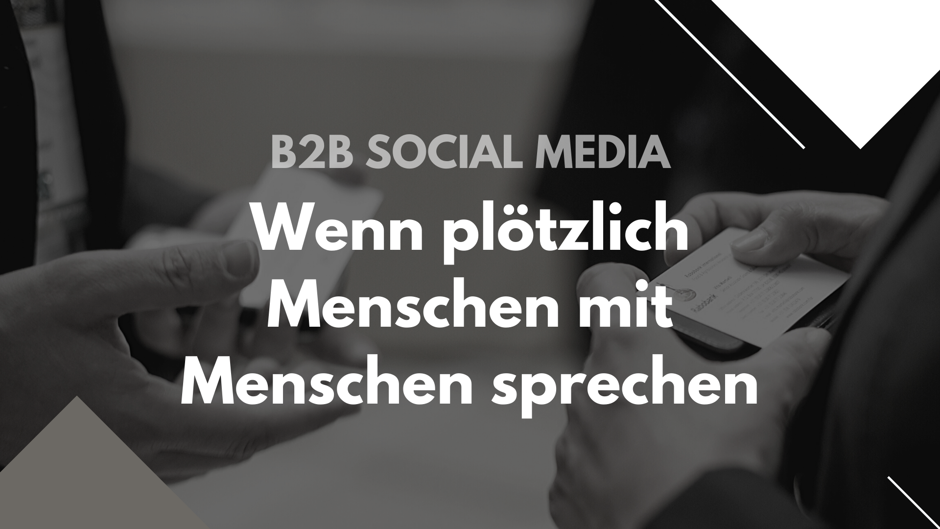 Fit für 2020? So perfektionierst du dein B2B Social Media Marketing