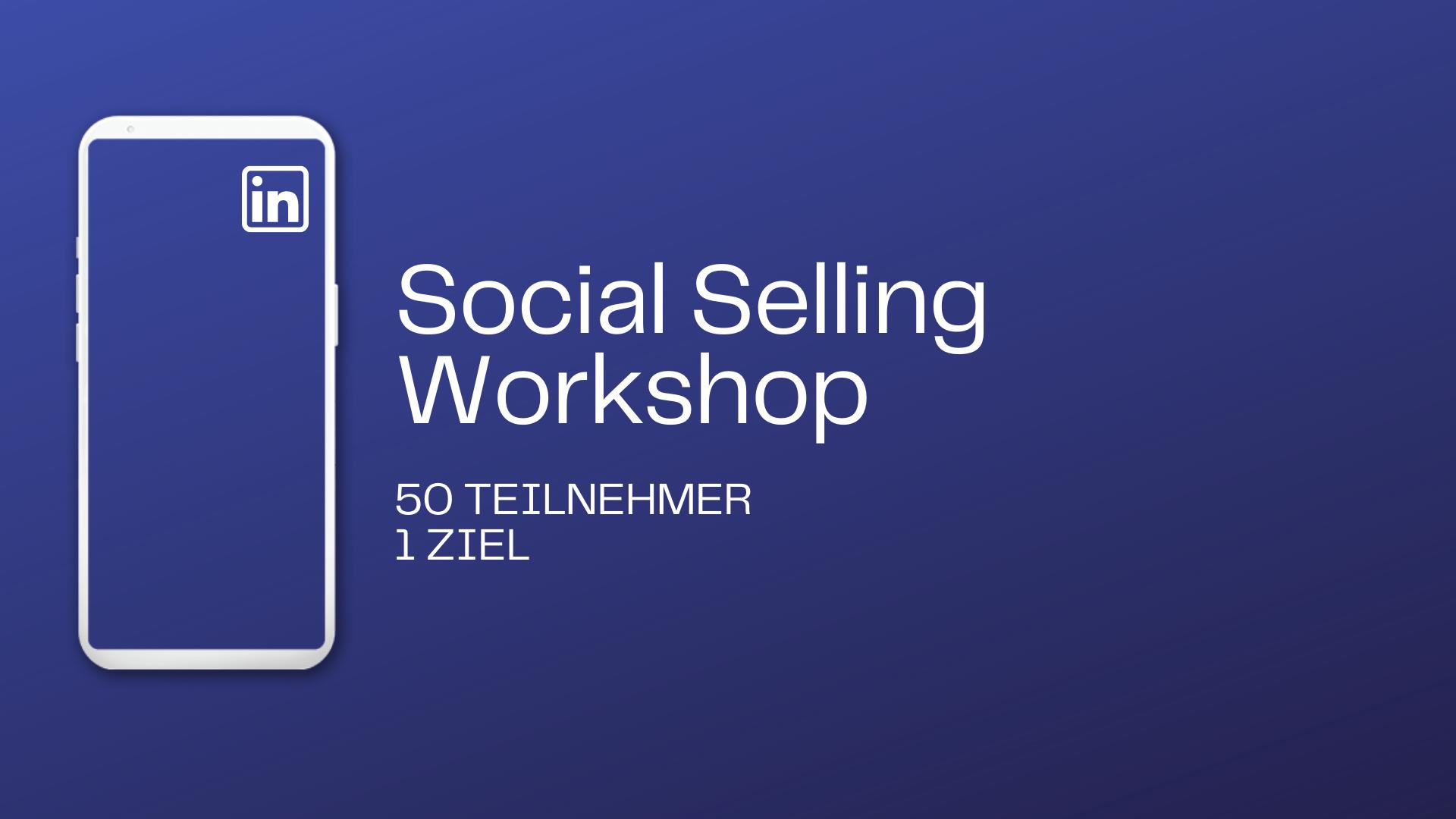 Case Study: Mitarbeiter-Workshop zum Thema Social Selling