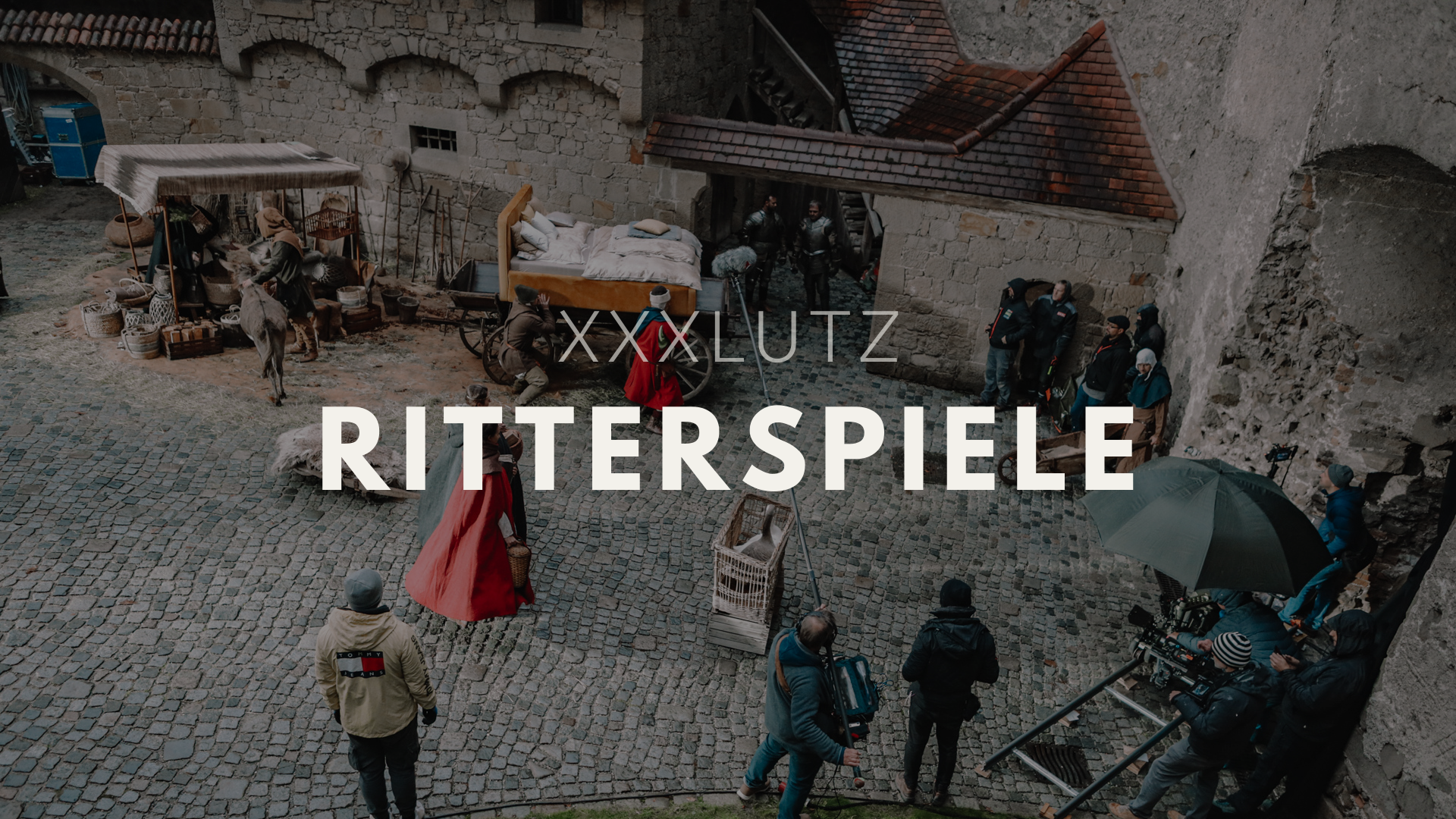 XXXLutz Spots: Dreh mit Game-of-Thrones-Feeling